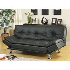 Modern Contemporary Sofa Living Room Convertible Sofa Bed For Living Room Black Color