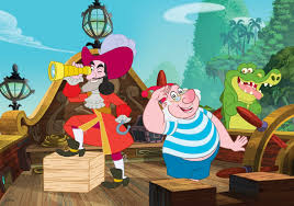 image captain hooksmee u0026tick tock jpg jake and the never land