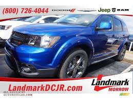 Dodge Journey Blue - 2015 dodge journey crossroad in blue streak pearl 630524 all