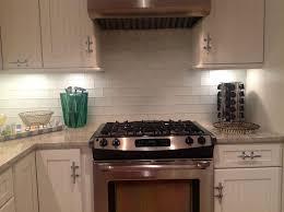 Black Subway Tile Kitchen Backsplash Black Subway Tile Backsplash Kitchen Home Design Ideas