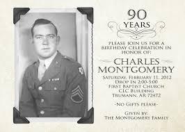 90th birthday invitations marialonghi com