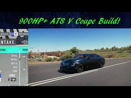 cadillac ats build cadillac ats v coupe build forza horizon 3 gameplay dlc car