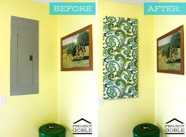 cover wall with wood panels paintable wallpaper to paneling