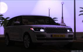 range rover purple range rover vogue v1 0 for gta san andreas