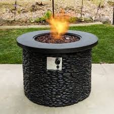 propane fire pit canada shop bond canyon ridge 50 000 btu liquid propane fire pit table at