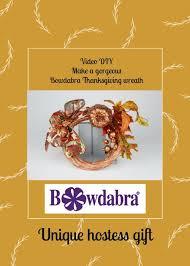 make a gorgeous bowdabra thanksgiving wreath best unique hostess