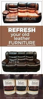 how to fix cut in leather sofa do you have real leather furniture that has faded from wear and tear