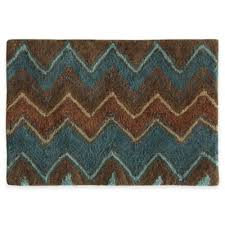 Blue And Brown Bathroom Rugs Buy Unique Bath Rugs From Bed Bath Beyond