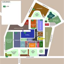 floor plan of a shopping mall greenhills shopping center