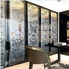 Interior Glass Sliding Doors Frosted Glass Interior Doors Impressive Interior French Doors