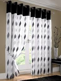 Whote Curtains Inspiration Wonderful Black Grey And White Curtains Inspiration With Curtains