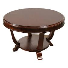 20th century rosewood art deco center table art deco traditional