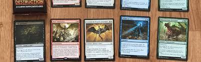 true false a magic cards is in the works orange