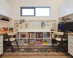 Home Office With Two Desks Home Office For Two Houzz