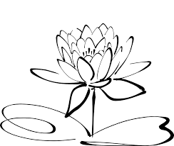 sketch of lotus flower pencil sketch lotus flower coloring pages