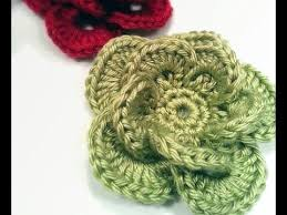Free Pattern For Crochet Flower - easy crochet flower patterns archives knit and crochet daily