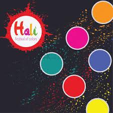 happy holi festival vector image 1995745 stockunlimited