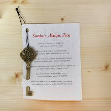 santa key santa s magic key and poem holidays christmas midwest craft