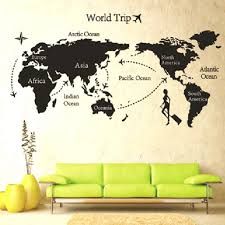 Large Wall Pictures by Wall Ideas Large Wall Art World Map Diy World Map Wall Art