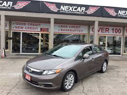 honda used cars toronto 2012 honda civic 12 990 safety etested and ready to go home
