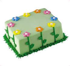 baskin robbins flower garden cake