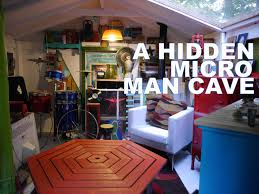 a hidden micro man cave cabin american pickers style tiny house