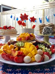 pinterest worthy australia day fruit platter pavlova recipe
