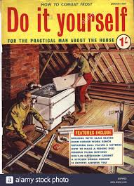 1960s uk do it yourself magazine cover stock photo royalty free