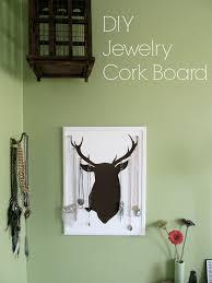 diy jewelry cork board u2013 ellerow