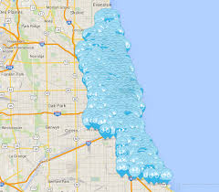 Map Metro Chicago by The Bike Share Tourist Chicago Ill The Source