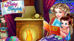 baby princess bedtime fairy tale room decoration game for kids