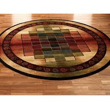 Circular Area Rugs 6 Area Rug What Looks Like Growth Rings Of A