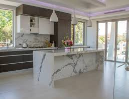 kitchen island used statuario marble used for kitchen island fabricated and installed