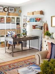 decorate office shelves home office ideas working from home in style