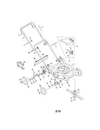 mtd lawn mower parts model 080 sears partsdirect