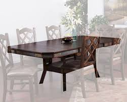 Sunny Designs AdjusTable Height Dining Table Savannah SUAC - Adjustable height kitchen table