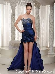 royal sweetheart prom dress with hand made flowers mydresscity com
