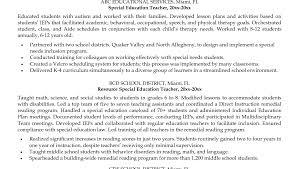 resume teacher resume example stunning teachers assistant resume