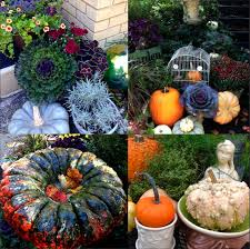 follow the yellow brick home fall garden displays ideas for