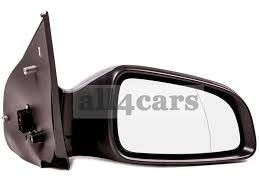 citroen berlingo 96 u003e manual black door wing mirror drivers side