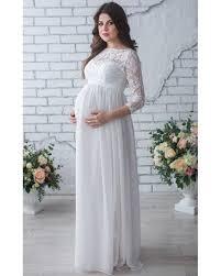 lace maternity dress photo shoot white chiffon dress pregnant