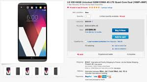 best black friday unlocked phone deals deal unlocked lg v20 on sale for just 355 android authority