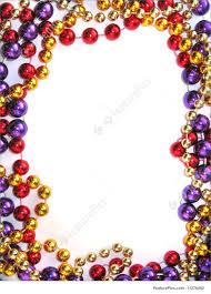 mardi gras frames mardi gras bead border picture