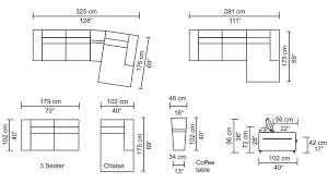couch measurements sectional sofa best collection of sectional sofa measurements long