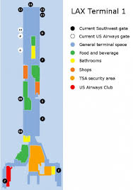 lax gate map southwest to get more gates in los angeles cranky flier