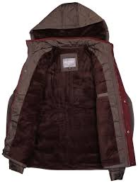 holstark men s denver zip and button hooded jacket ebay