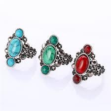 unique stone rings images Buy boho vintage unique stone rings women love jpg