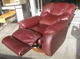 furniture elegant red leather recliner for living room furniture
