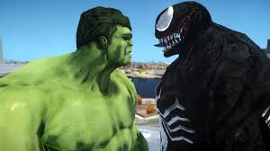 hulk venom epic battle