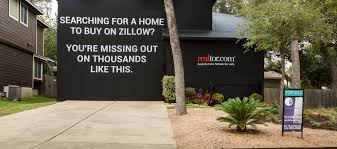 Zillow Home Search by Realtor Com U0027s U0027experiential Ad U0027 Wraps Austin Home With Dig At